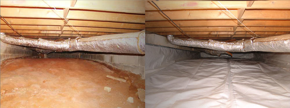 atlanta crawl space waterproofing dry tec closed crawl space