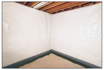 The Wall Vapor Barrier controls seepage and vapor movement from the exterior through masonry walls until you are ready to finish your basement. & Wall Vapor Barrier | Trotter Company